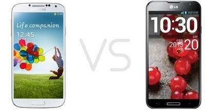 Galaxy S4 vs LG Optimus G Pro Comparison Differences | Android Gyan | Scoop.it