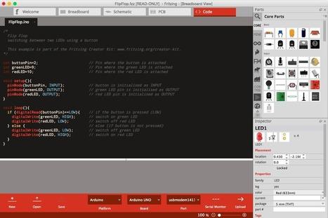 Fritzing. Introducing Code View   tecno4   Scoop.it