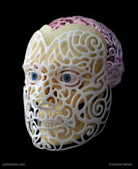 21st Century Self-Portrait, A 3D-Printed Self-Portrait Mask by Joshua ... | Machinimania | Scoop.it