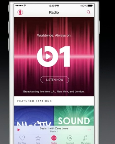 Apple Launches New Music Streaming Service, Apple Music | A Kind Of Music Story | Scoop.it