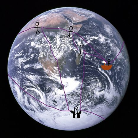 An Impractical, Ahistorical, Mathematically Elegant Way to Figure out the Earth Is a Sphere | News, Tools and Resources for Teaching and Learning in an Academy of Earth & Space Science | Scoop.it