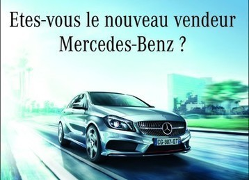 Un recrutement centralisé pour Mercedes-Benz France | Communautés collaboratives | Scoop.it