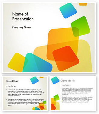Transparent Colored Squares PowerPoint Template | PowerPoint Presentations and Templates | Scoop.it