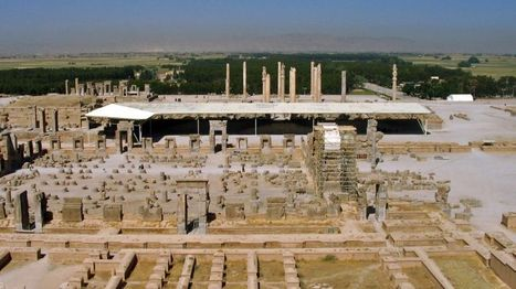 Archeologists find water canal exits of Persepolis | Science is Cool! | Scoop.it
