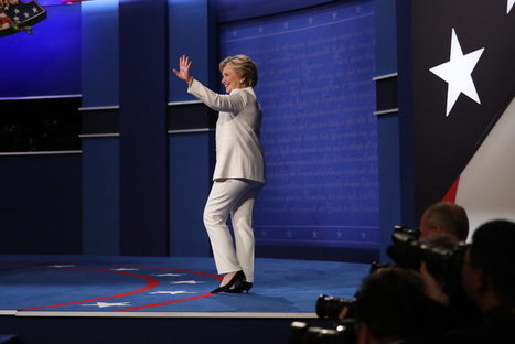 In Debate, Hillary Clinton's Clarion Call for Women Thrills Many | Fabulous Feminism | Scoop.it