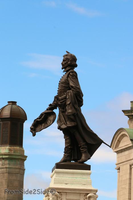 FromSide2Side - blog expatrié aux Etats-Unis: Lettre à Monsieur de Champlain, fondateur de Québec ! | from Side to Side | Scoop.it