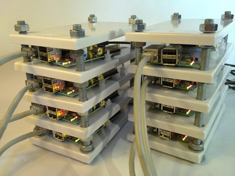 Can An 8 Node Raspberry Pi Cluster Web Server Survive Hackaday? | Heron | Scoop.it