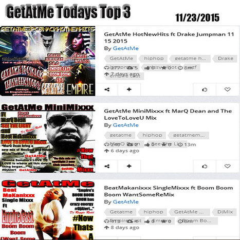 GetAtMe Todays Top 3 Drake's JUMPMAN HotNewHits is #1 | GetAtMe | Scoop.it