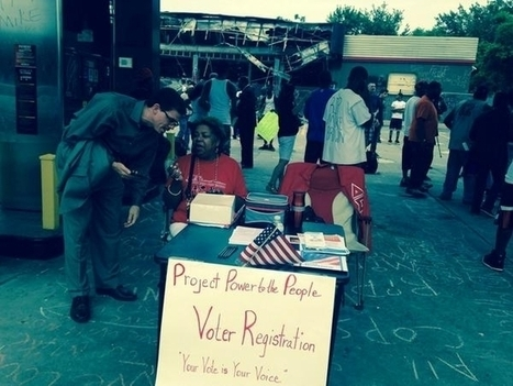 Missouri GOP Outraged About Voter Registration Booths In Ferguson   Upsetment   Scoop.it