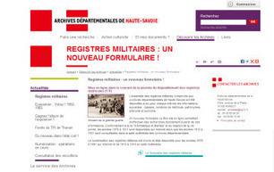 (74) Les registres militaires de Haute-Savoie de 1878 à 1911 sont en ligne. | Archivesenlignes | Rhit Genealogie | Scoop.it