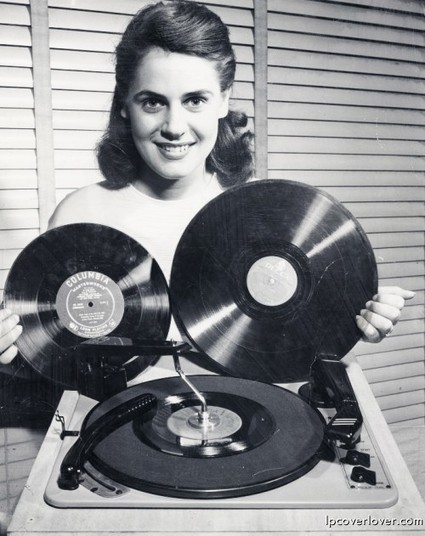 LPCover Lover   Chicks dig records   Vintage, Robots, Photos, Pub, Années 50   Scoop.it