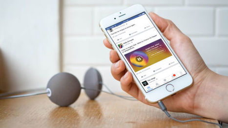 Facebook debuts Music Stories with Spotify and Apple Music | MUSIC:ENTER | Scoop.it