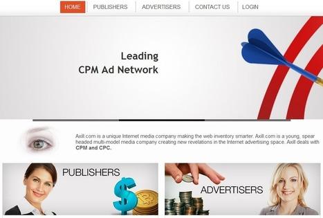 Axill review : online advertising network | wordpress | Scoop.it