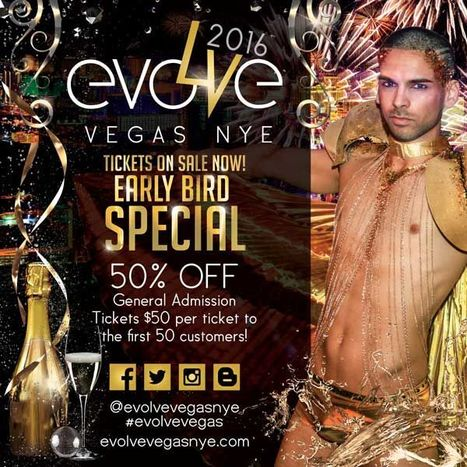 TICKETS ON SALE! Evolve Vegas NYE 2016 EARLY BIRD SPECIAL! LIMITED AMOUNT! | Evolve Vegas NYE | Scoop.it