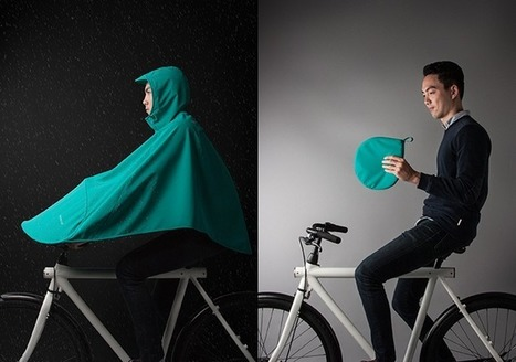 This Could Be the Bike Poncho We Didn't Know We Needed | Innovation & Sport | Scoop.it