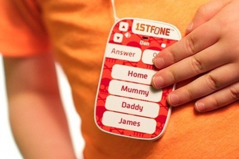 Basic Phone Lets Parents Keep In Touch With Their Toddlers | Telco | Scoop.it