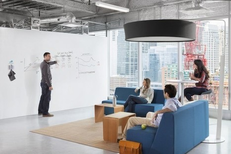 4 Tips for Employee Collaboration & Creativity - Work Design: Interiors, Architecture, and Employee Engagement | Nerwork Economy and beyond... | Scoop.it