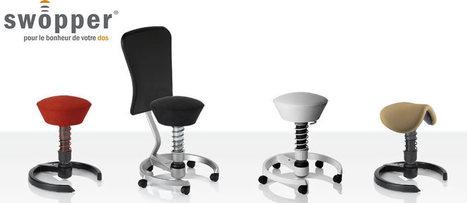 Swopper Shop vous propose une solution made in Aeris.   Le concept Swopper : un siege ergonomique et dynamique   Scoop.it