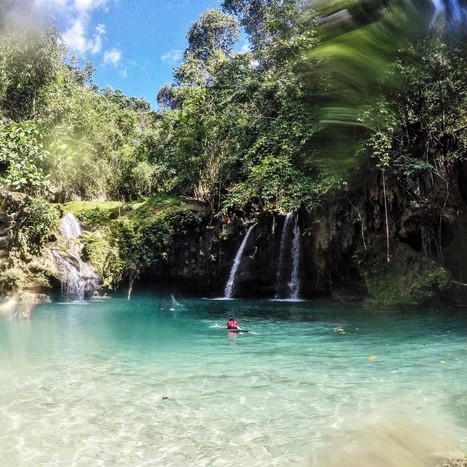 Canyoneering to Kawasan Falls in Badian: The Hidden, Dark Beauty of The Philippines - Karla Around the World | Philippine Travel | Scoop.it