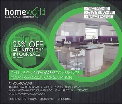 Bespoke Kitchens Falkirk | Homeworld | Scoop.it
