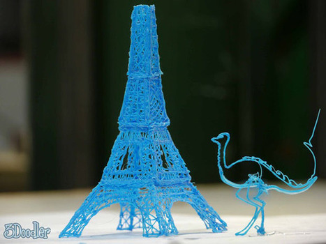3Doodler, un stylo capable d'écrire en 3D | Technologie futuriste | Scoop.it