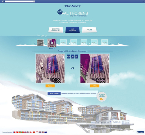 Club Med ramps up social channel investment with snow resort crowdsourcing campaign   Club Med & Social Media   Scoop.it