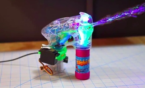 Automating a bubble blaster with Arduino Micro | Raspberry Pi | Scoop.it