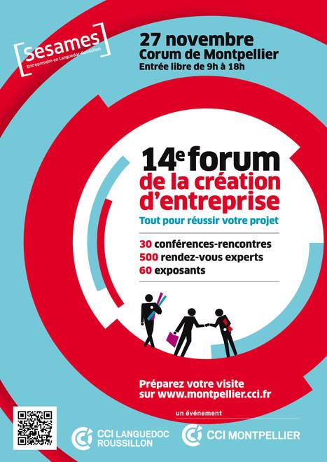 13e Forum création reprise d'entreprises | Agenda & Evènements | Scoop.it