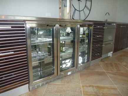 Different types of appliances for your outdoor kitchen for Types of kitchen appliances