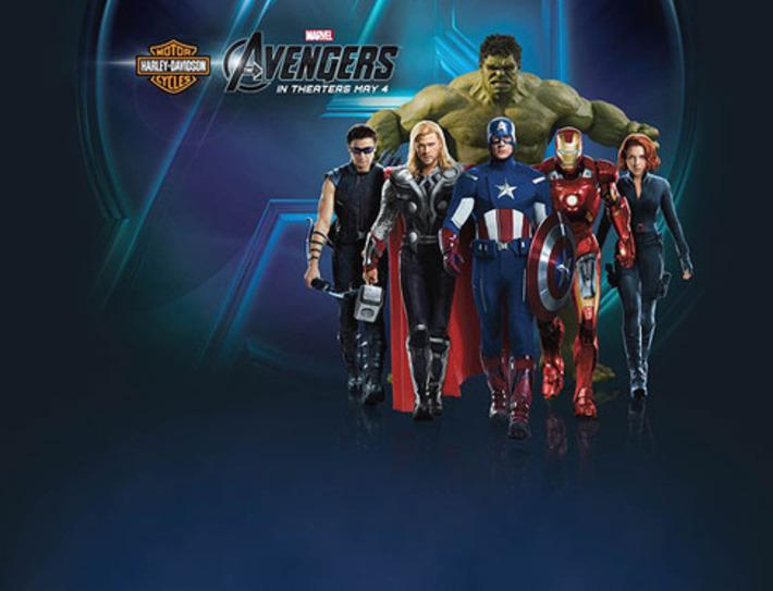 Harley-Davidson Touts The Avengers | Machinimania | Scoop.it