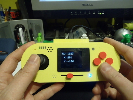 Arduino Esplora Case by JoeyC - Thingiverse | Arduino, Netduino, Rasperry Pi! | Scoop.it