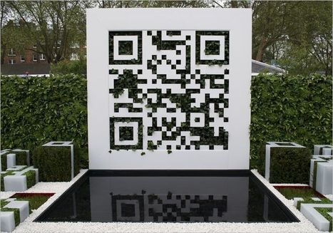 Prize Winning QR Code Garden | QRdressCode | Scoop.it
