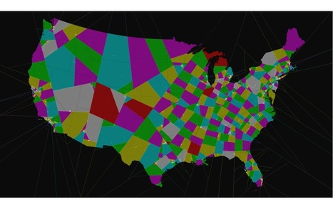 This is what America would look like without gerrymandering   AP Human Geography   Scoop.it