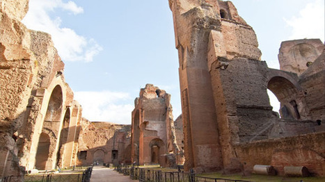 Restoration of Roman tunnels gives a slave's eye view of Caracalla baths | The Raw Story | Archaeology makes the news | Scoop.it