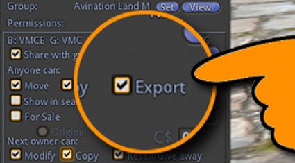 "Avination, Singularity create ""export"" permission – Hypergrid Business 