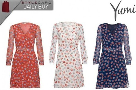 Daily Buy: Uttam Boutique Long Sleeve Floral Wrap Dress | StyleCard Fashion Portal | StyleCard Fashion | Scoop.it