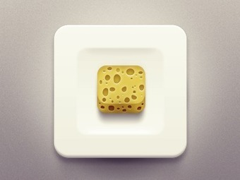 Rubber Cheese: 10 Delicious iOS App Icons   Design Trends   Scoop.it