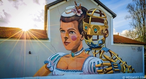 Best of Lisbon Street Art Sunshine Photography By Messagez.com | Technology | Scoop.it