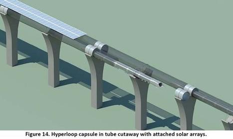 Futur moyen de transport terrestre ultra-rapide à énergie solaire : l'hyperloop | Innovation automobile | Scoop.it