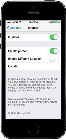 Shuffler Cydia Tweak to Randomize Your iOS 7 Lock Screen Wallpaper   Best cydia tweaks   Scoop.it