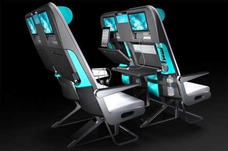 As coach seats shrink, these new designs could save your sanity - Digital Trends   Airline Passenger Experience   Scoop.it