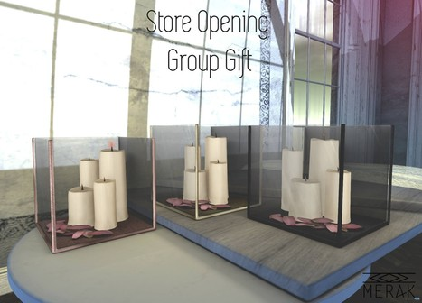 Candle Boxes Store Opening Group Gift by [Merak] | Teleport Hub - Second Life Freebies | Second Life Freebies | Scoop.it