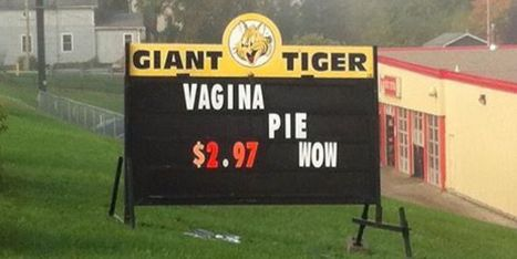 LOOK: Hilarious Giant Tiger Sign Fail | Strange days indeed... | Scoop.it