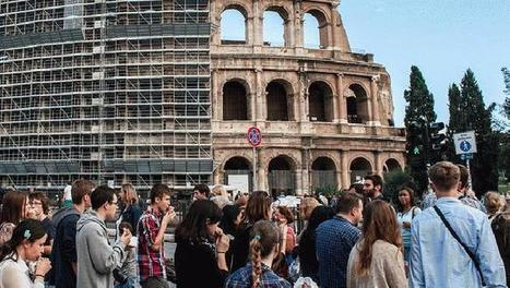 Le Marche Tycoon is Saving the Colosseum | Restoration work begins on Rome's crumbling ancient monument | Find updated latest discount coupons codes | Hotdealsncoupons | Scoop.it
