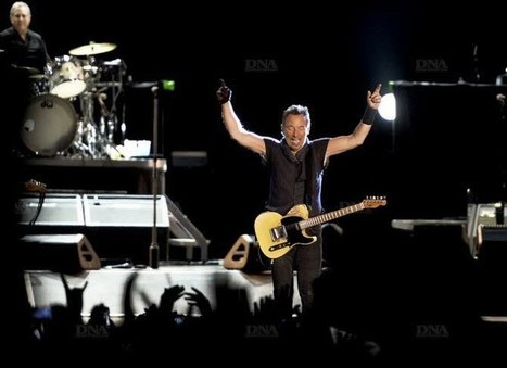 Bruce Springsteen en tournée fleuve - DNA | Bruce Springsteen | Scoop.it