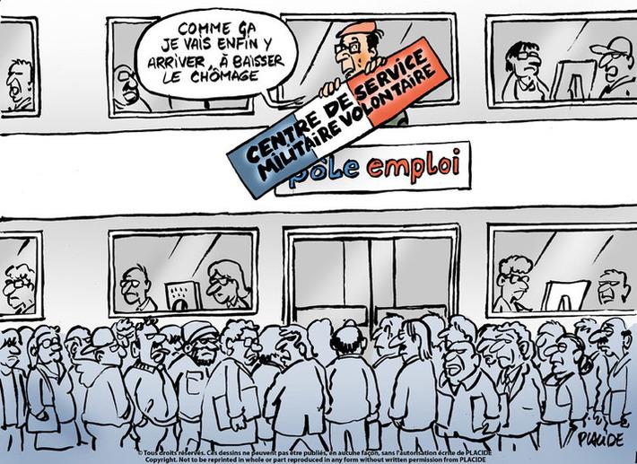 Hollande veut mettre au pas la nouvelle hausse du chomage | Baie d'humour | Scoop.it