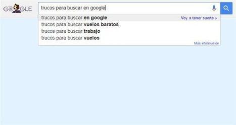 Los trucos más útiles para buscar en Google · Tecnología en español. Comparativas, tutoriales, trucos, ayudas, paso a paso, cómo · Noticias | TIC TAC TEP | Scoop.it