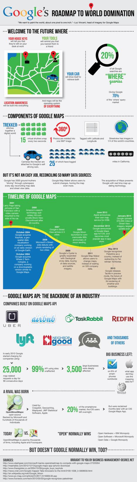 Todo lo que debes saber sobre Google Maps #infografia #infographic #maps | communitymanagerspain | Scoop.it