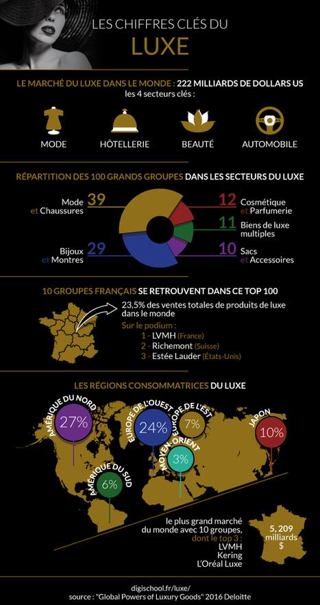 Infographie : tout savoir sur le secteur du luxe   Video, Marketing digital, Webmarketing   Scoop.it