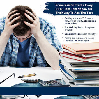 4 Painful Truths Only IELTS Takers Will Understand | English Proficiency Training | Scoop.it